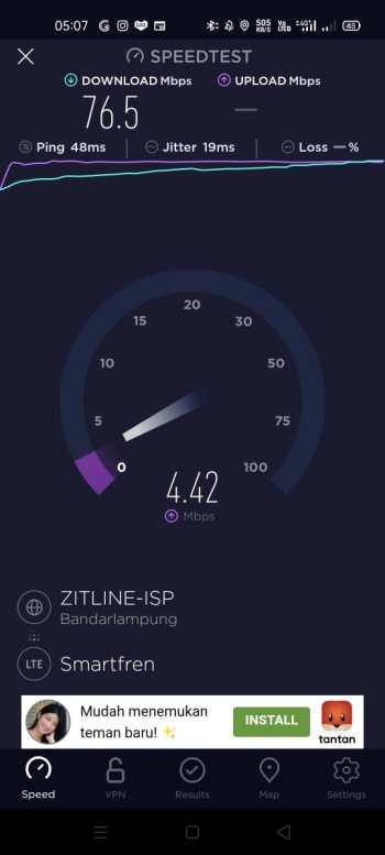 speedtest smartfren unlimited