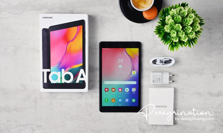 review samsung tab a8 2019