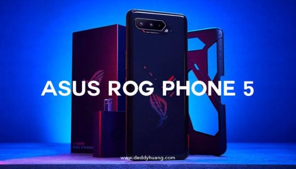 ROG Phone 5 Series Resmi Hadir di Marketplace