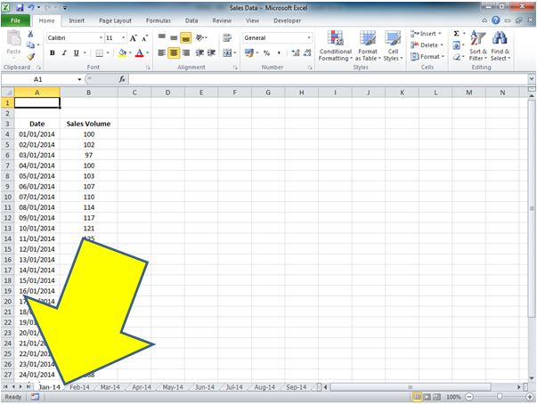 How To Return The Worksheet Name In A Cell For Excel