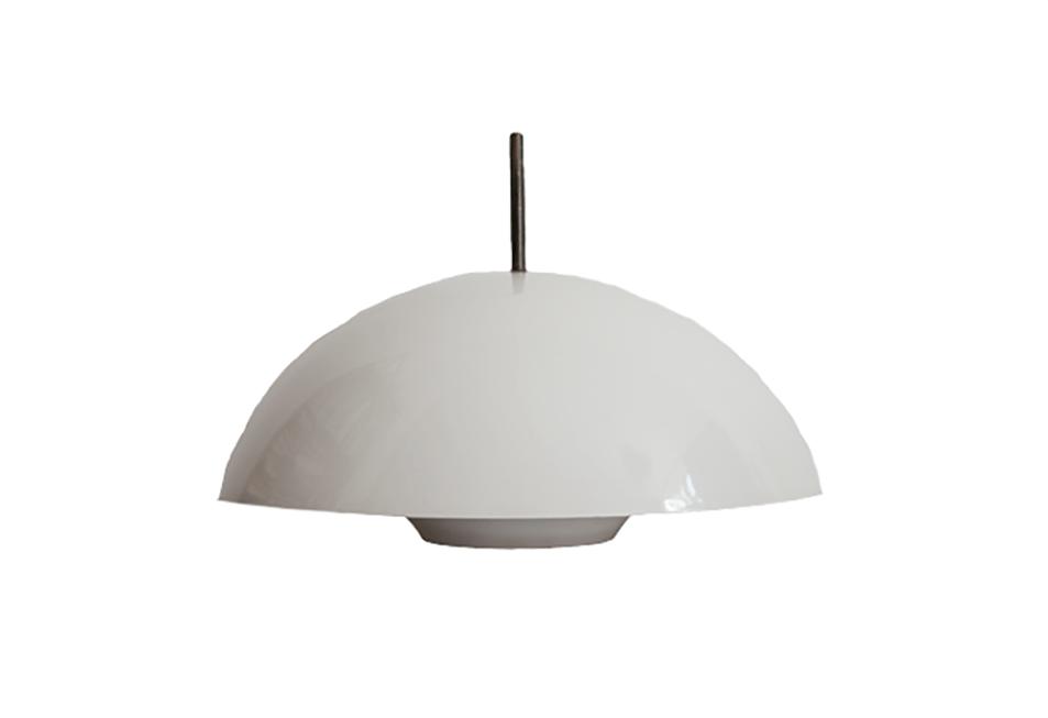 witte koepel hanglamp