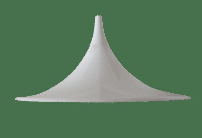 Deense witte Semi Maxi hanglamp