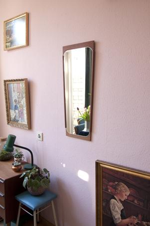 deense vintage spiegel
