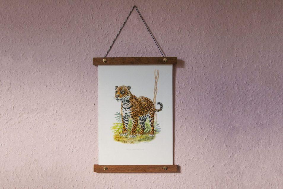 Vintage dierenprint