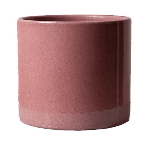 vintage roze bloempot