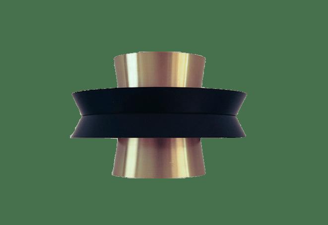 zwart gouden lamp Carl Thore