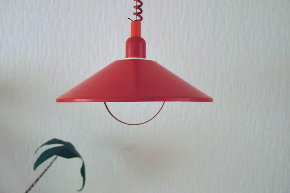 rode hanglamp Vitrika