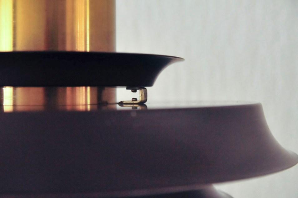 bruine gouden hanglamp Vitrika