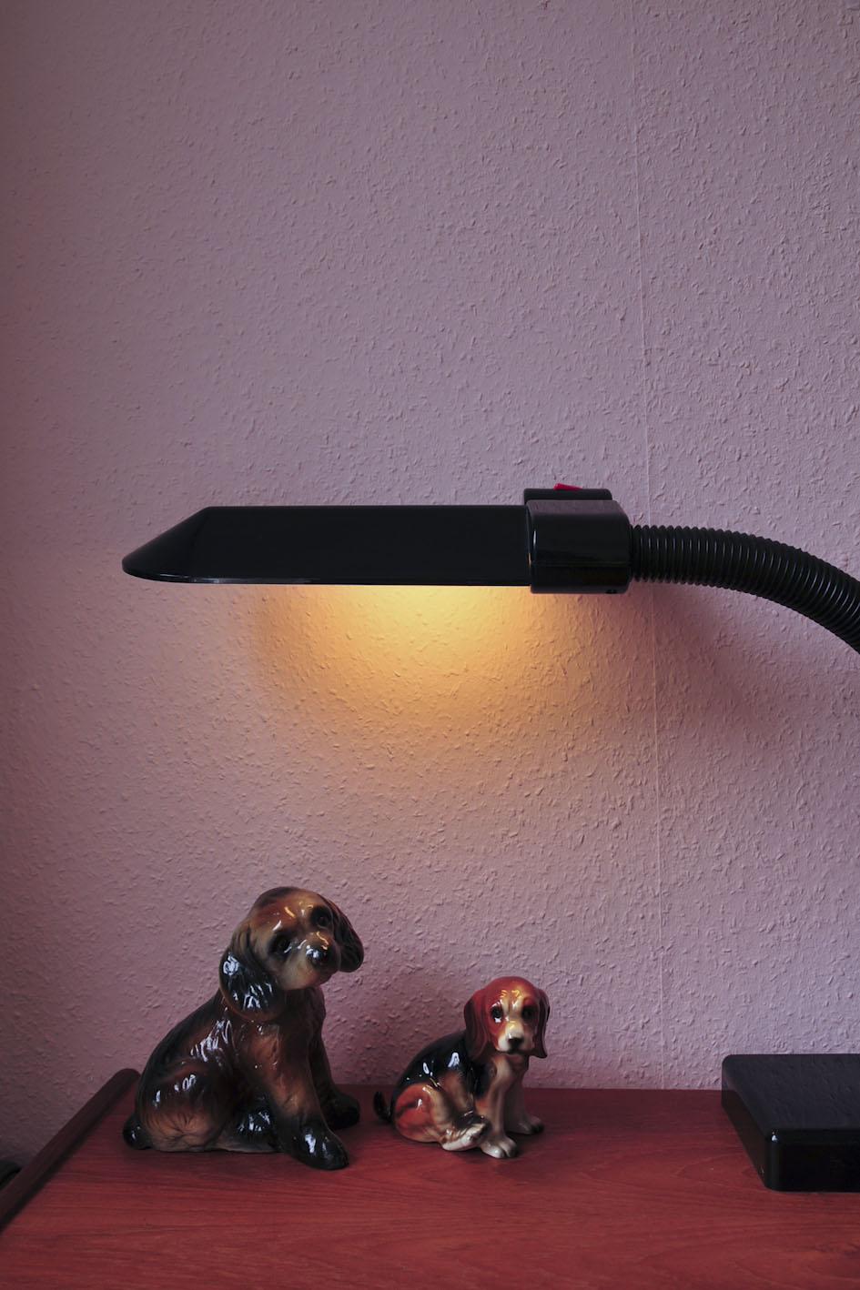 zwarte bureaulamp Sylvania