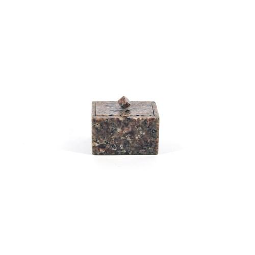 klein stenen bakje deksel