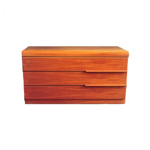 houten ladekastje met 3 lades