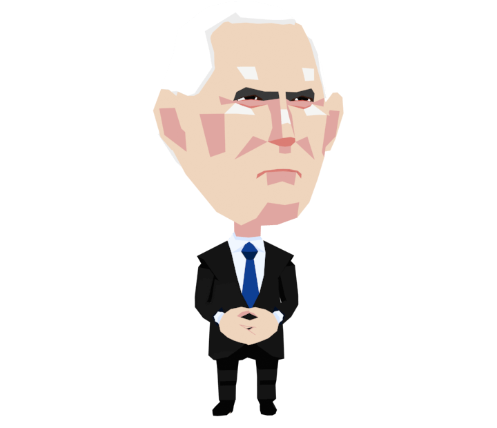 Mike Pence Caricature