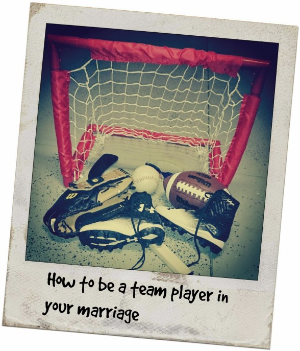 How to Be A Team Player in Your Marriage