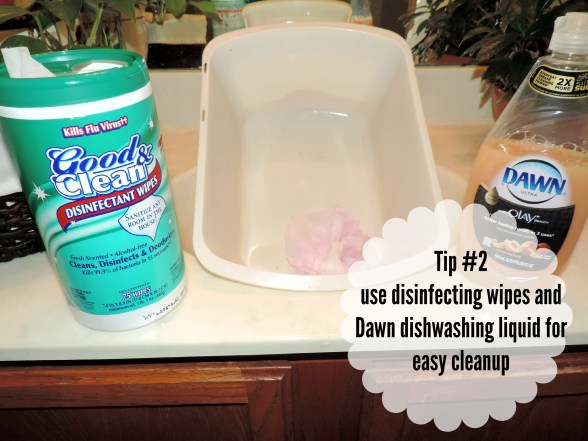 clean up tip