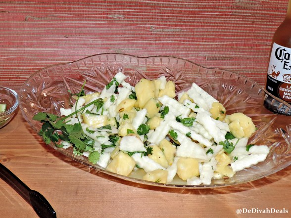 Jicama and Pineapple Salad