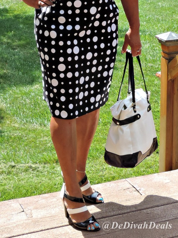 Avon purse and shoes