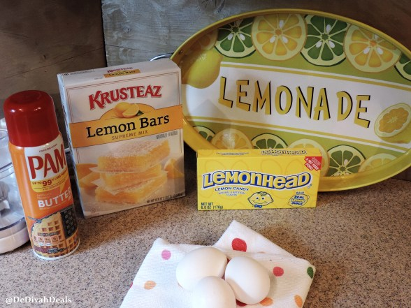 Lemonhead Lemon Bars