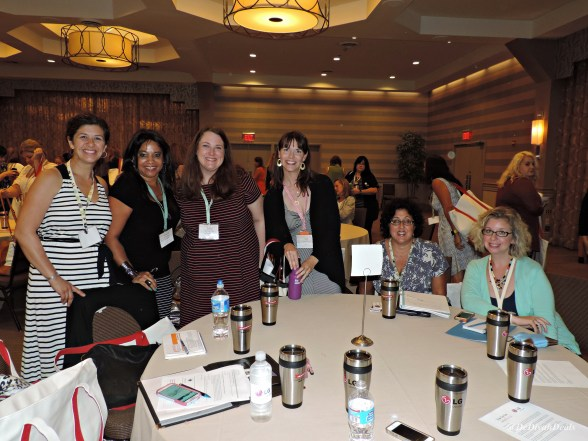 Bloggy Boot Camp tablemates