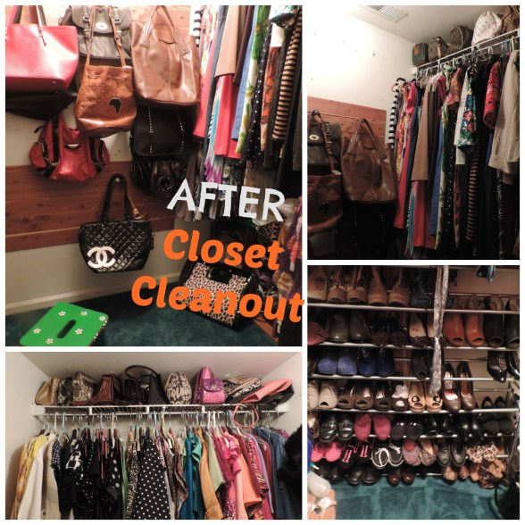 AFTER CLOSET CLEANOUT
