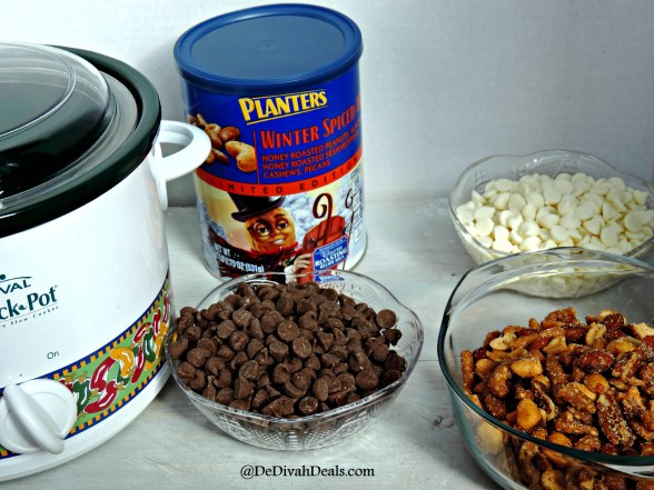 Planters Mixed Nuts and Chocolate and White Chips