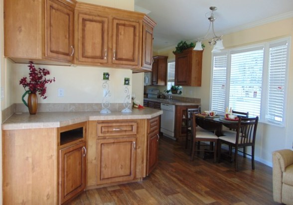 kitchen in vacation home