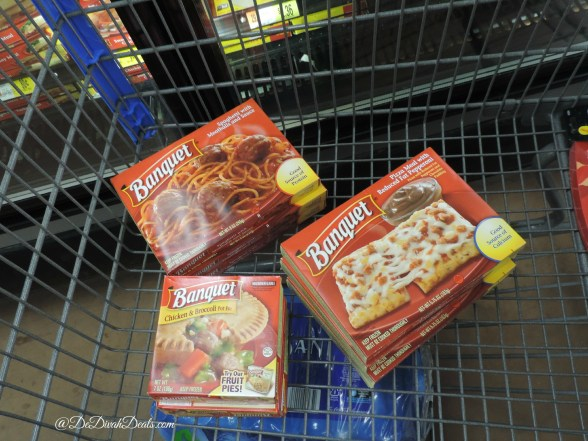 Banquet Frozen Foods in my cart