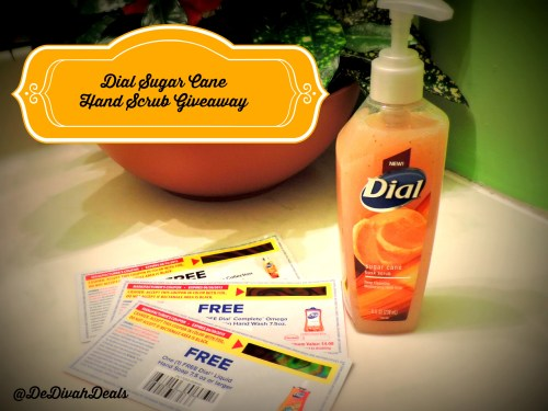 Dial Hand Scrub Giveaway