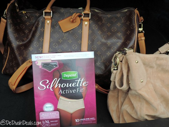 Depend Silhouette Active Fit 4
