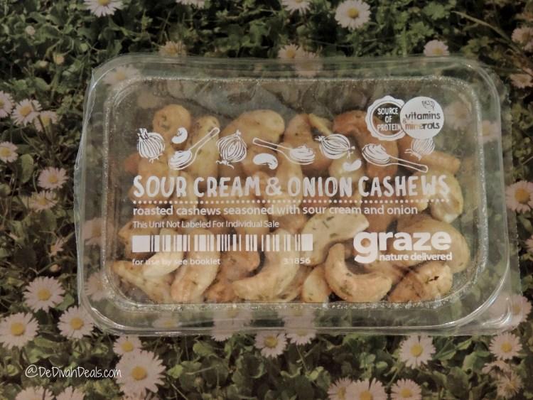 Sour Cream & Onion Cashews