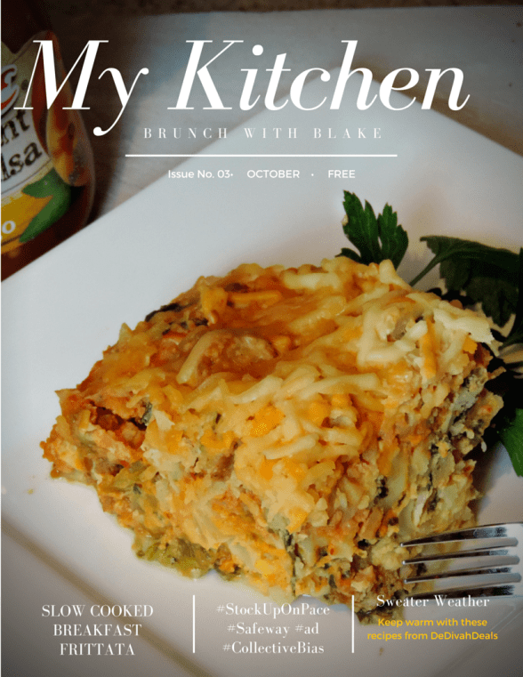 My Kitchen Magazine Cover