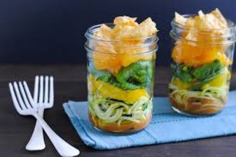 ASIAN ZOODLE SALAD JAR