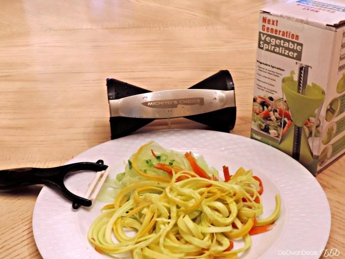 Michiyo's Choice Vegetable Spiralizer
