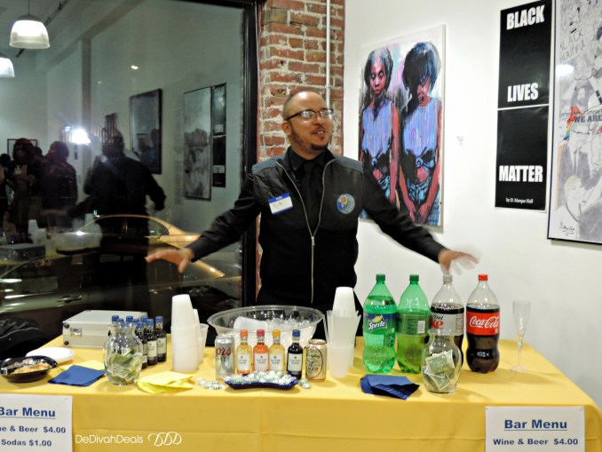 refreshments at Rysheema Dixon fundraiser