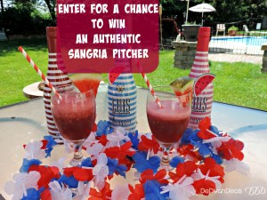 enter to win Spanish Sangria Pitcher