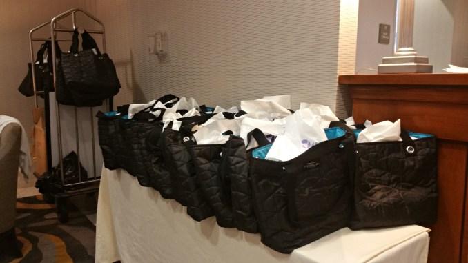 Swag Bag giveaways