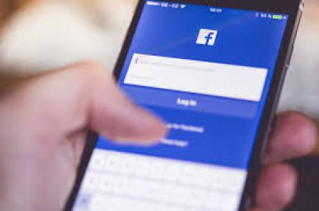 Facebook for Business on a smartphone