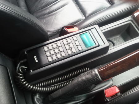 car phones in the 90s