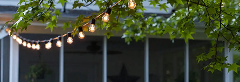 commercial festoon lights patio