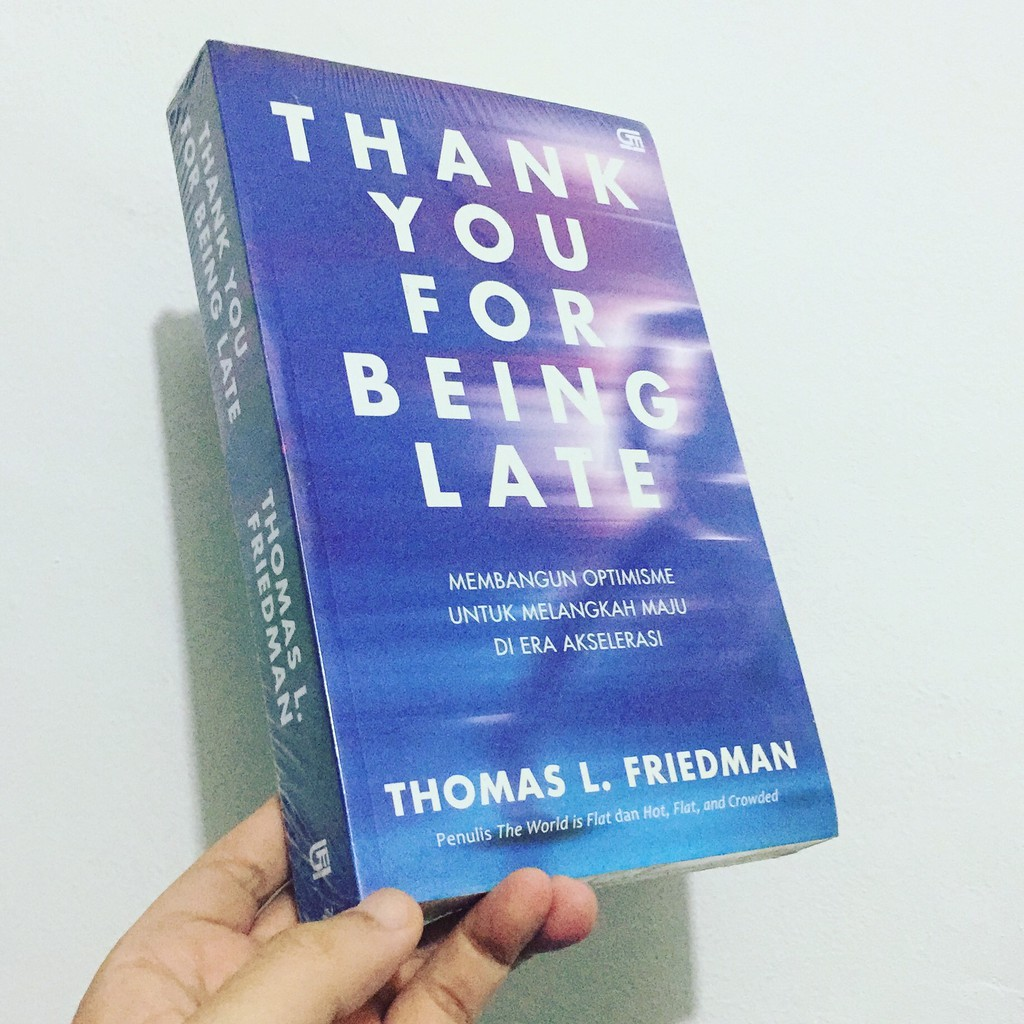 """Podcast Buku """"Thank You For Being Late"""" by Thomas L Friedman"""