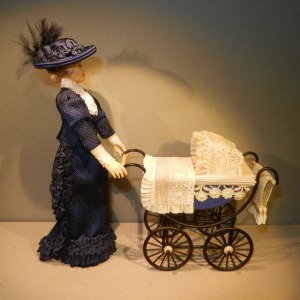 THE GOVERNESS - With baby in pram