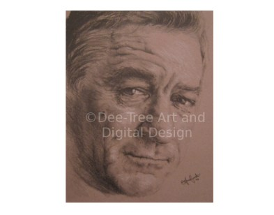Portrait of De Niro