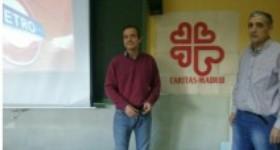 Dar a conocer Cáritas a los alumnos del Instituto Villa de Vallecas