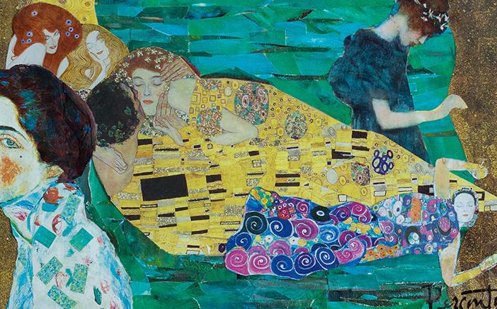 Klimt at Rest