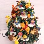 Disney Danbury Mint Winnie The Pooh Light Up Christmas Tree With Certificate 1578