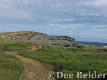 the road to Green Sands