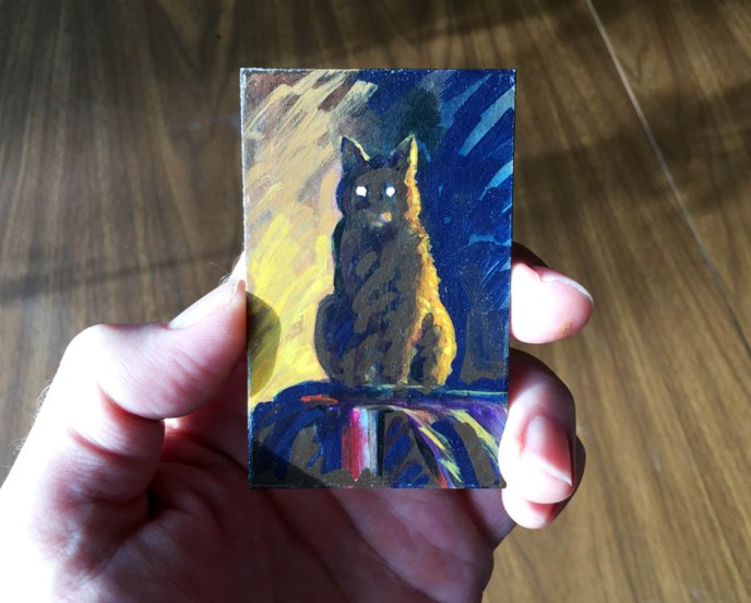 MYSTERY CAT 2 HAND