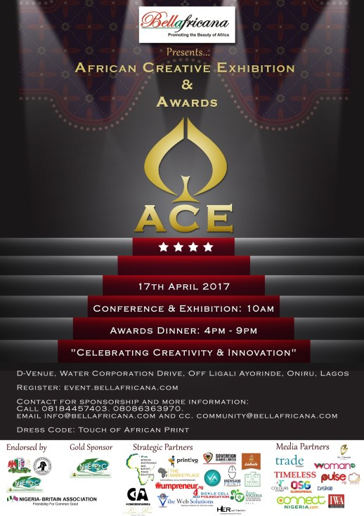 BELLAFRICANA AFRICAN CREATIVE EXHIBITION (ACE) AND AWARDS