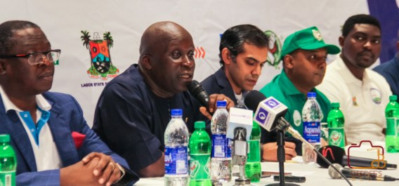 Press conference of the Lagos City Marathon 2017