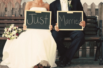 I just got married and this is my story