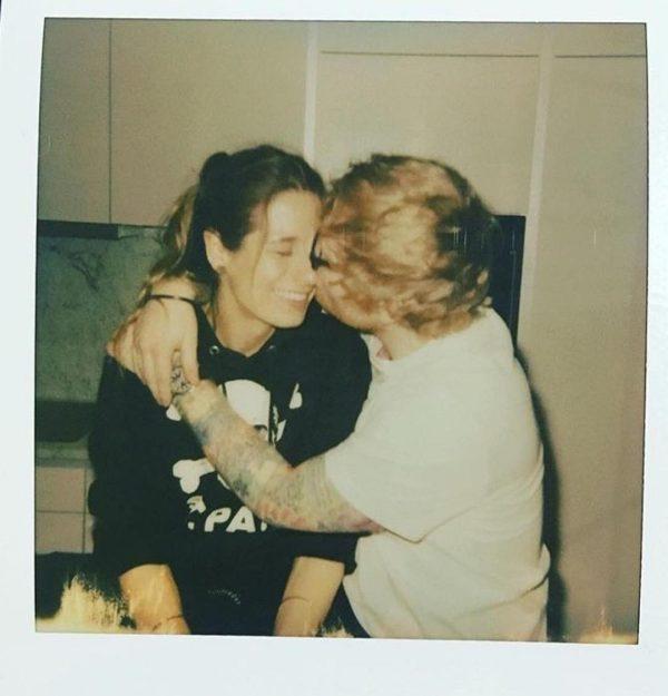 Ed Sheeran gets engaged